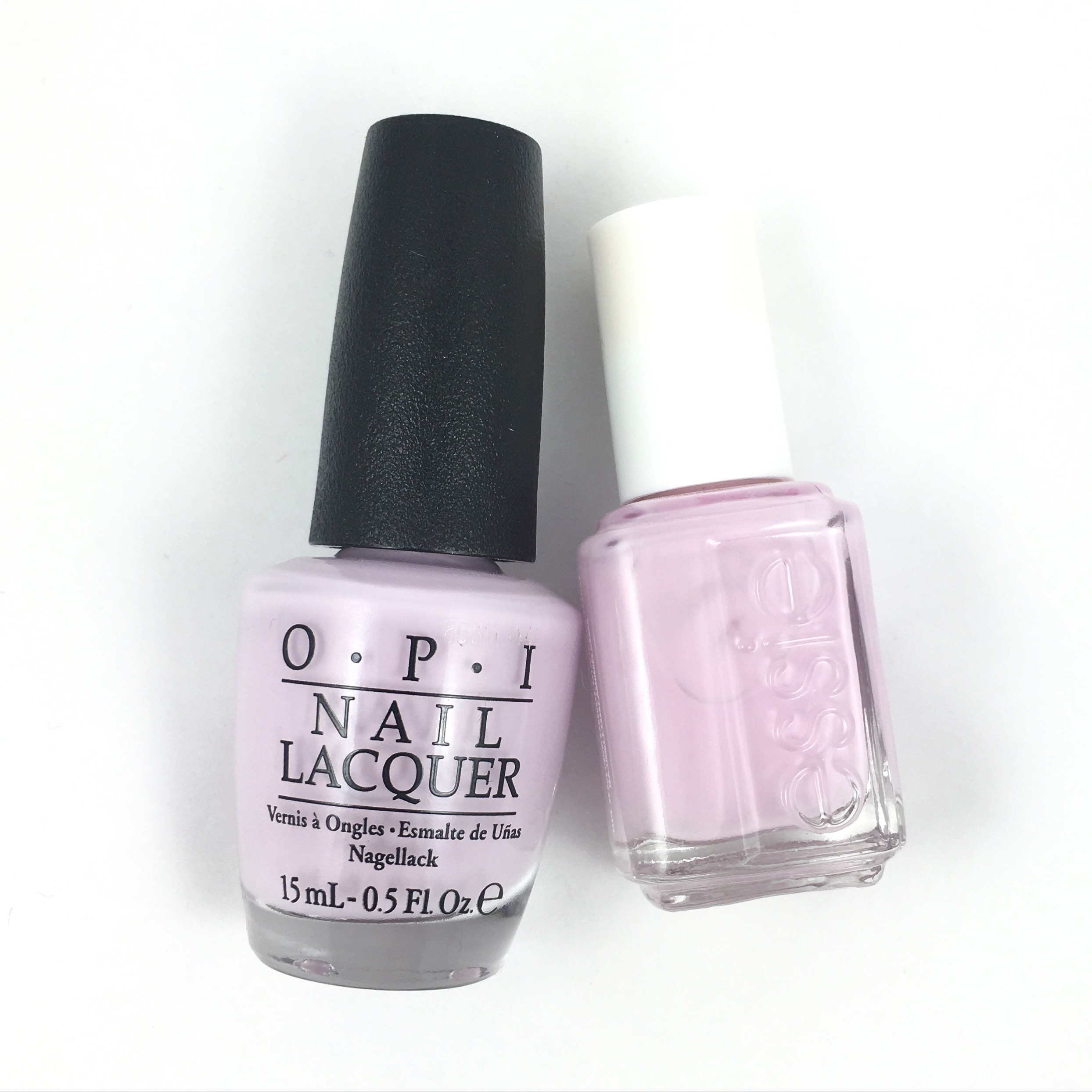 Opi Im Gown For Anything Vs Essie Go Ginza Hanninator