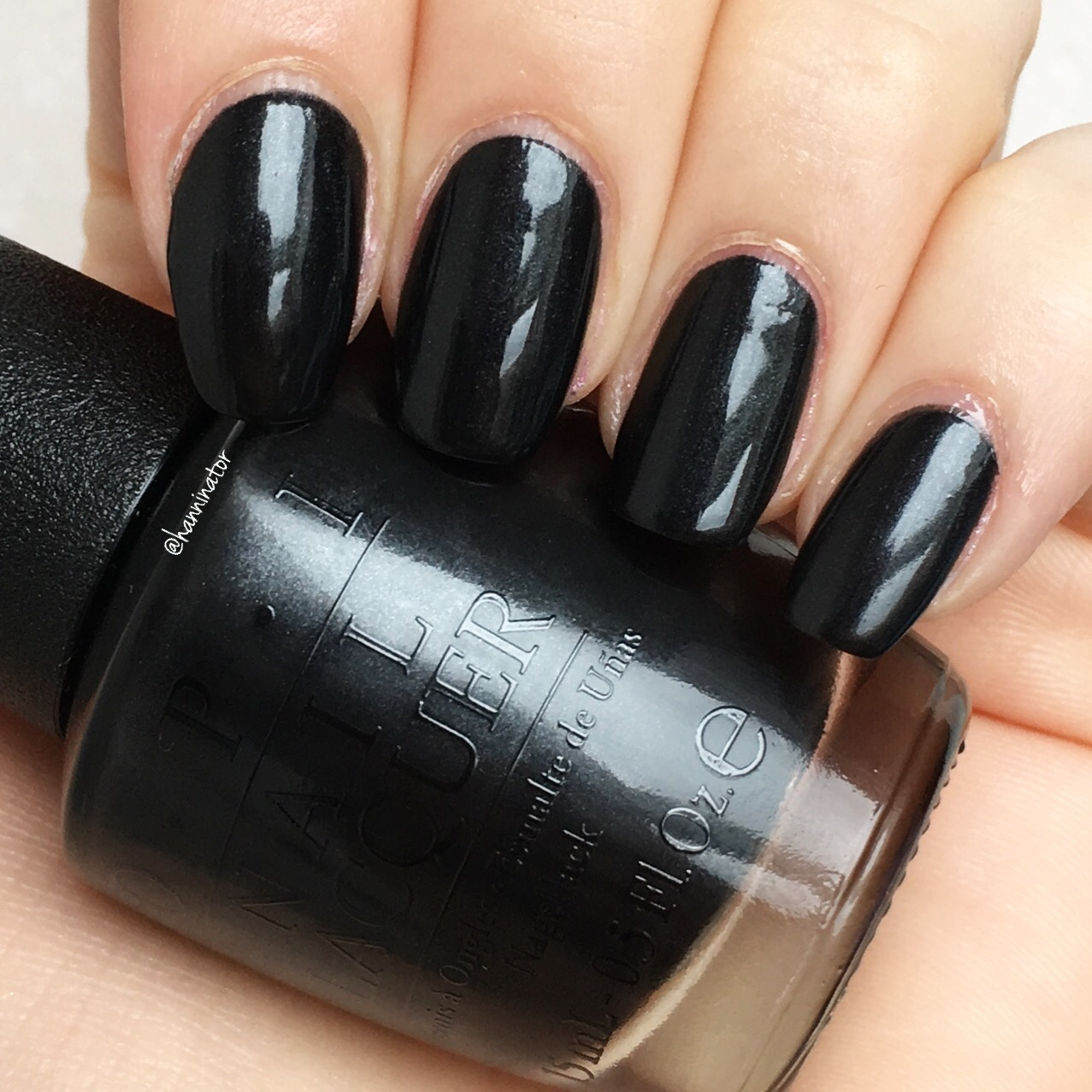 Black dress not optional opi paint