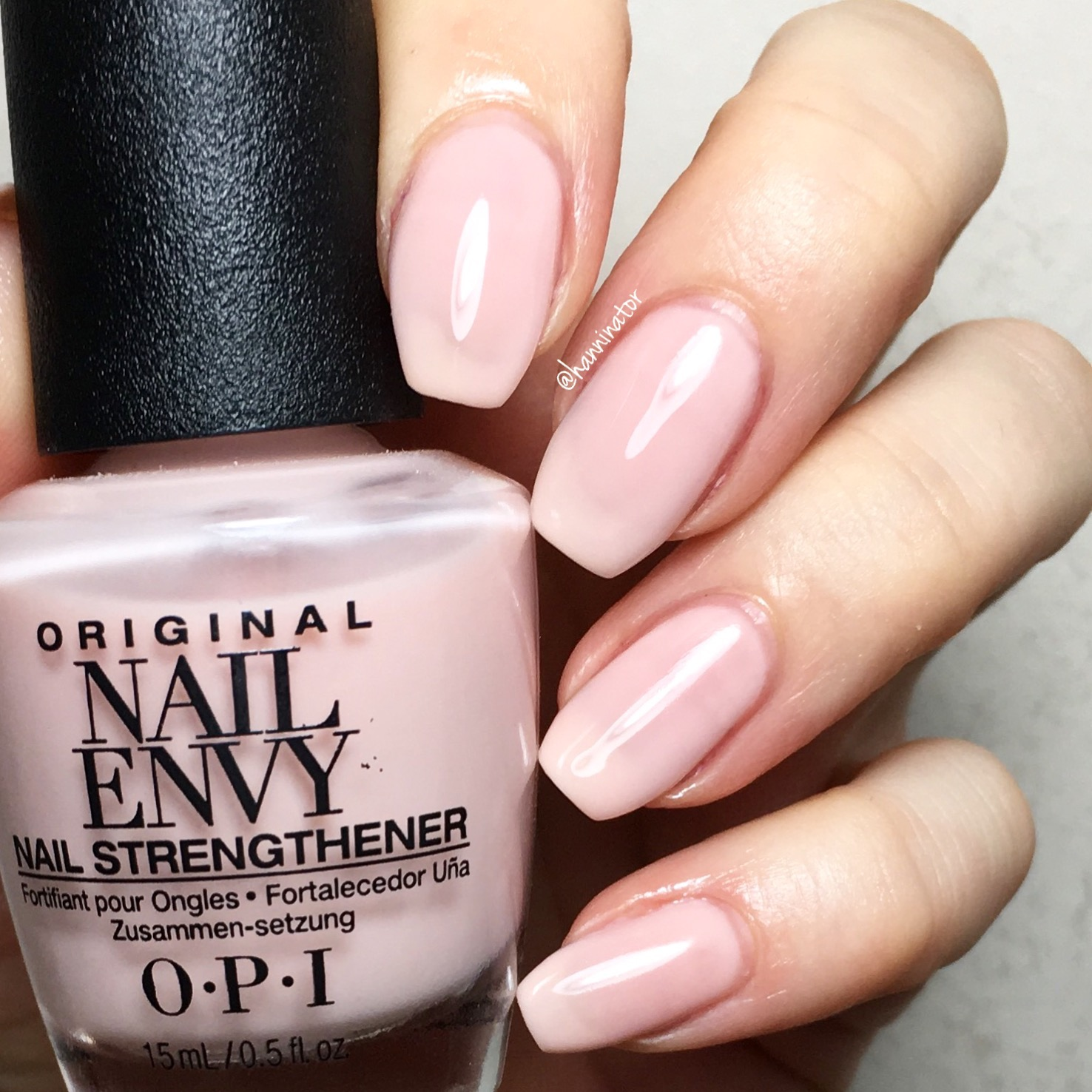 Opi Nail Envy Bubble Bath Hanninator
