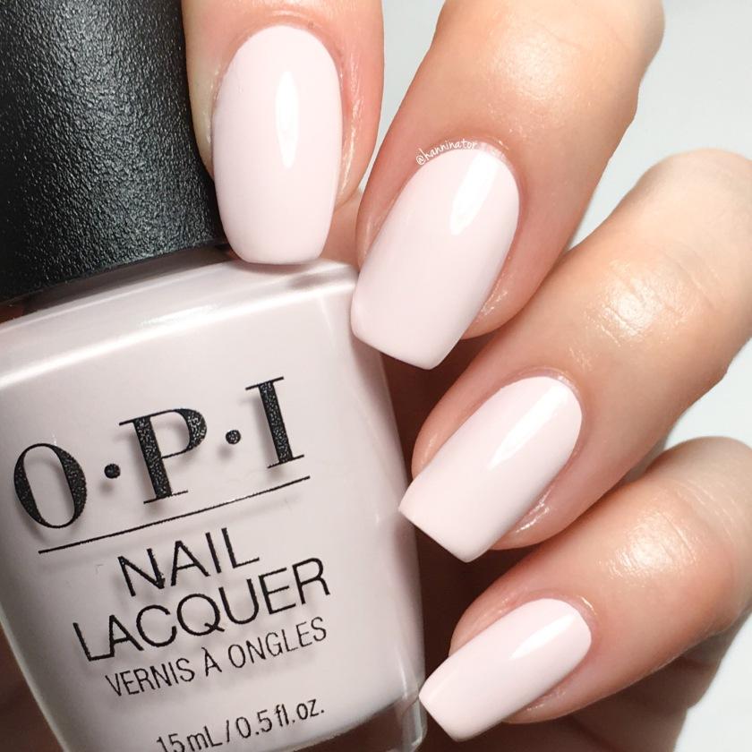 Pinkish White Nail Polish: Hanninator
